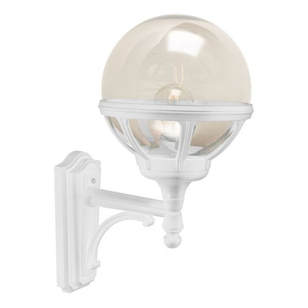 Bologna Vit Ip54 Vägglampa