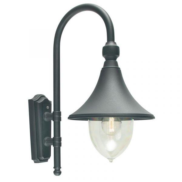 Firenze Svart Ip54 Vägglampa
