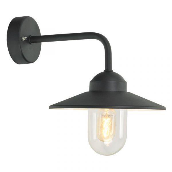 Vansbro Svart Ip55 Vägglampa