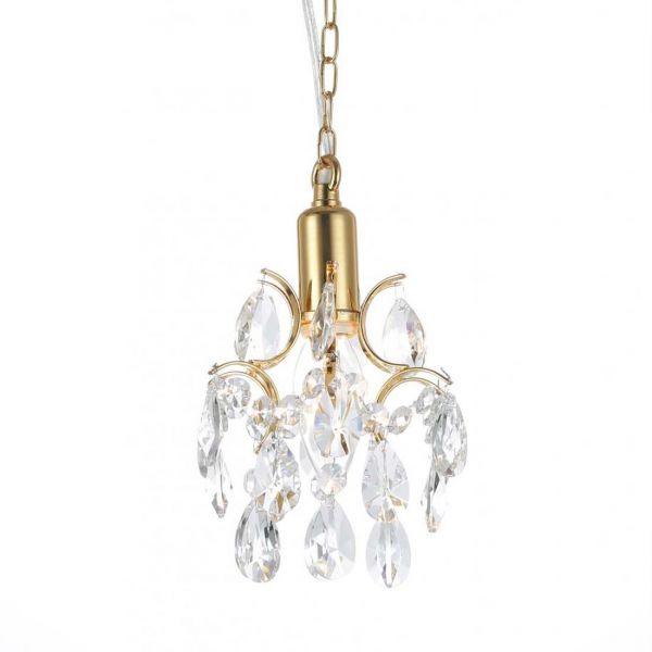 Kate Guld/Kristall 16cm Fönsterlampa