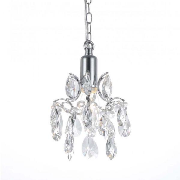 Kate Krom/Kristall 16cm Fönsterlampa