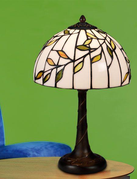 Björk Tiffany 25cm Bordslampa