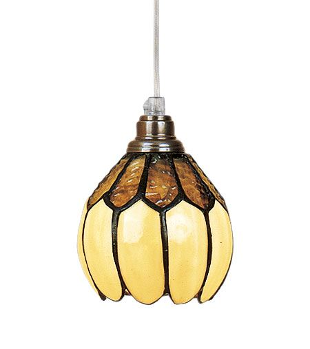 Gulsippa Tiffany 12cm Fönsterlampa