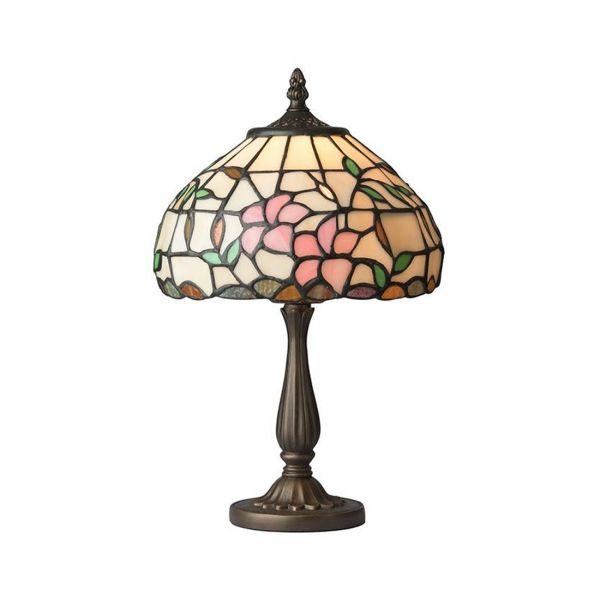 Hibiskus Tiffany 20cm Bordslampa