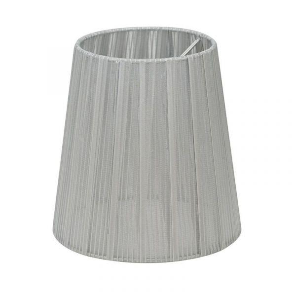 Skärm Organza 14,5Cm Silver