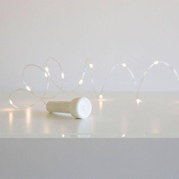 Trådslinga - 15 LED Battery Dekoration