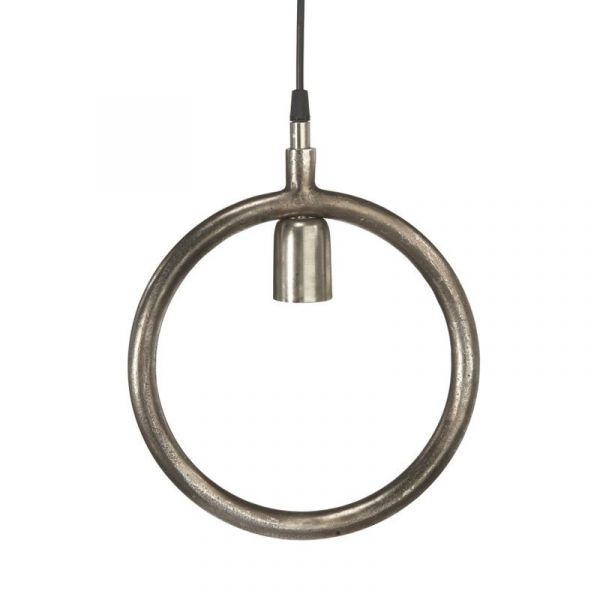 Circle Råsilver 25Cm Fönsterpendel