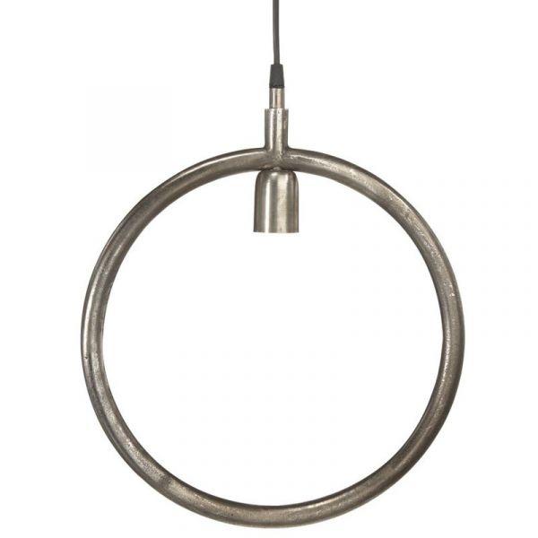 Circle Råsilver 35Cm Fönsterpendel