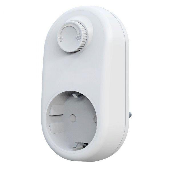 Plug-in dimmer för LED Vit 230 volt