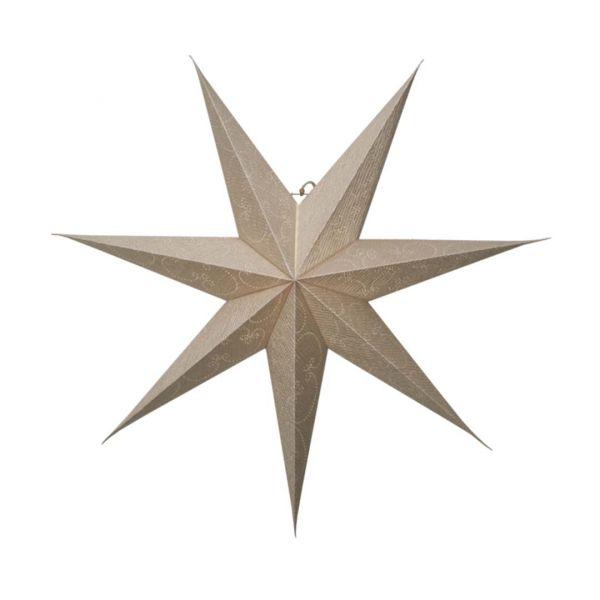 Decorus Guld 75cm Pappstjärna