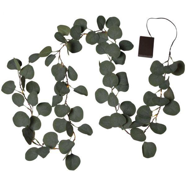 Eucalyptus Ljusslinga 180cm 20Led