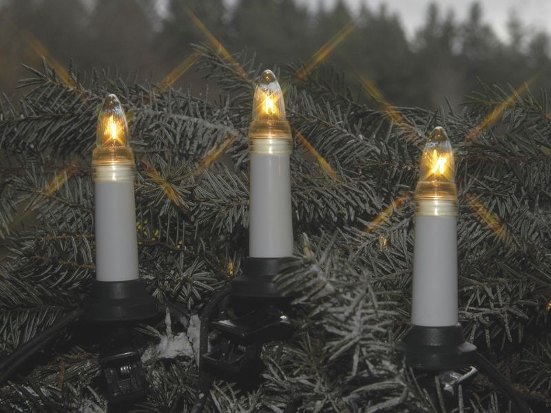 Julgransbelysning 25-Led Inne/Ute