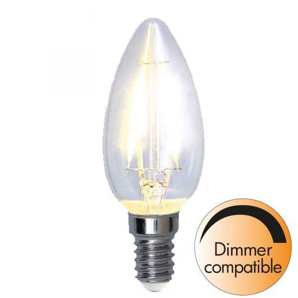Kron E14 4,2W Filament Dimbar Led
