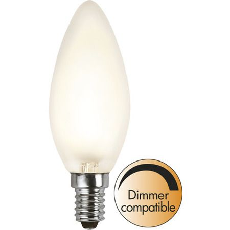 Kron E14 4W Frosted Dimbar Led