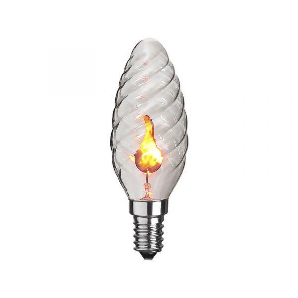Kron Vriden E14 3W Flickering Flame Led