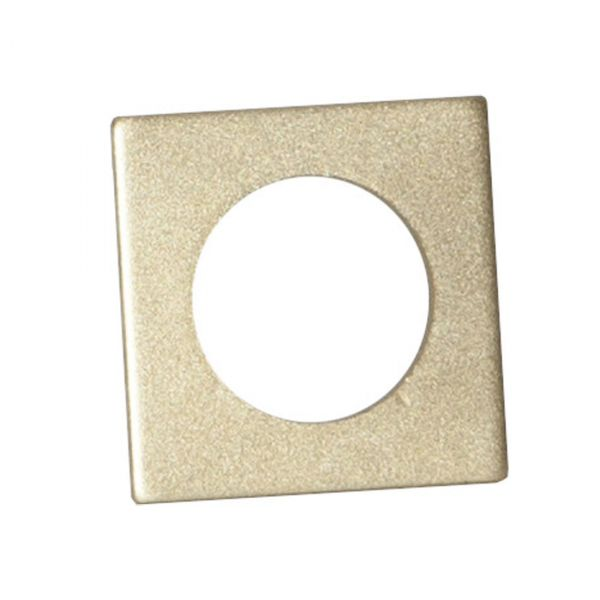 Ljusmanschett 7-pack Accessorize Fyrkant 3,2cm Guld