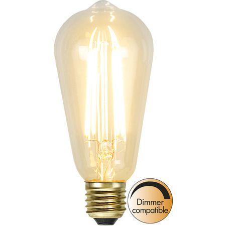 Lyktlampa E27 3,6W Soft Glow Dimbar Led