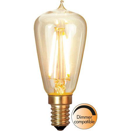 Lyktlampa E14 1,7W Soft Glow Dimbar Led