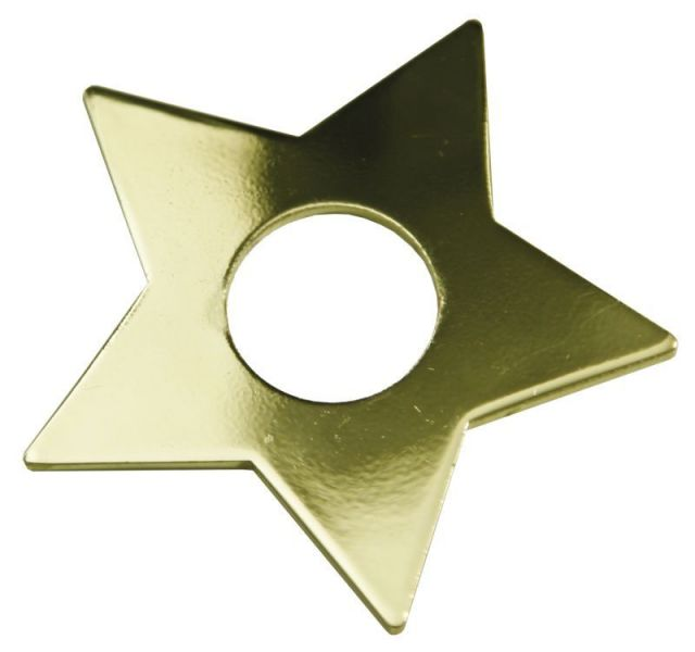 Manschett Stjärna 7-Pack Guld