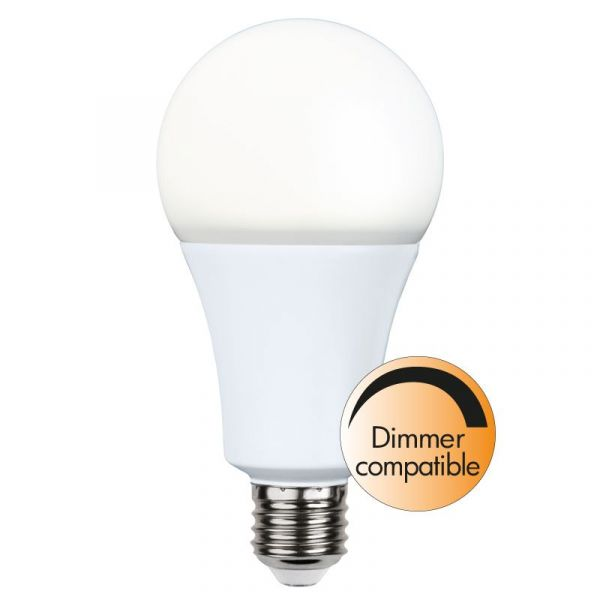 Normal E27 Opal 20W 1900Lm 2700K Dimbar led