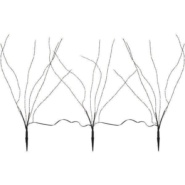 Reedy Dekorationsträd IP44 3-pack 60cm Led