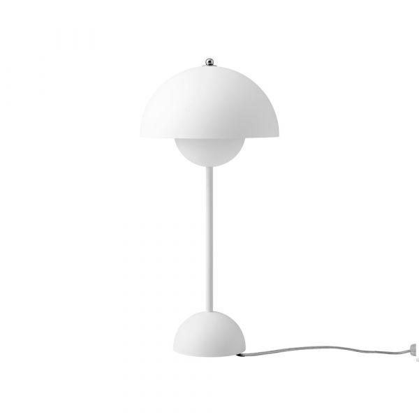 Flowerpot VP3 Mattvit 50cm Bordslampa