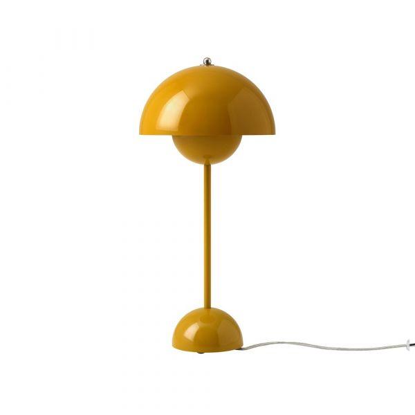 Flowerpot VP3 Mustard 50cm Bordslampa