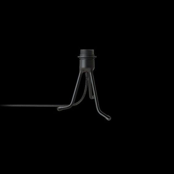 Tripod Svart 19cm Lampfot