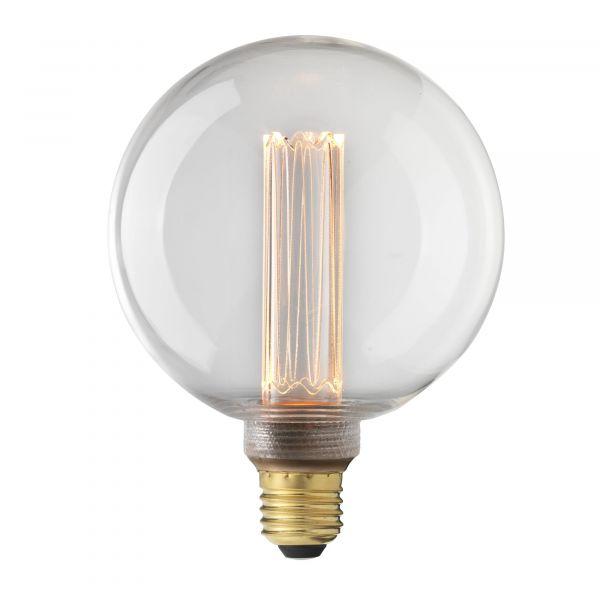 Glob 125 E27 3,5W UNI-K Dimbar Led