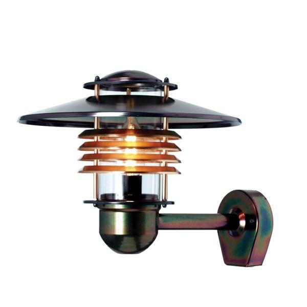 Arnäs IP44 Koppar Vägglampa