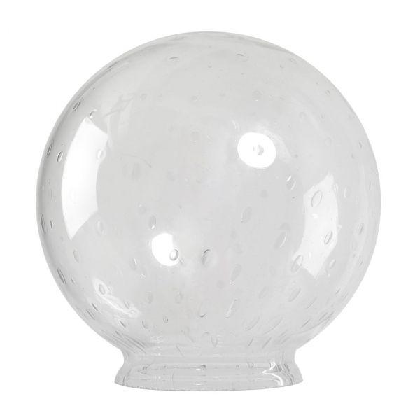 Glasglob Klar Blås 350/150mm