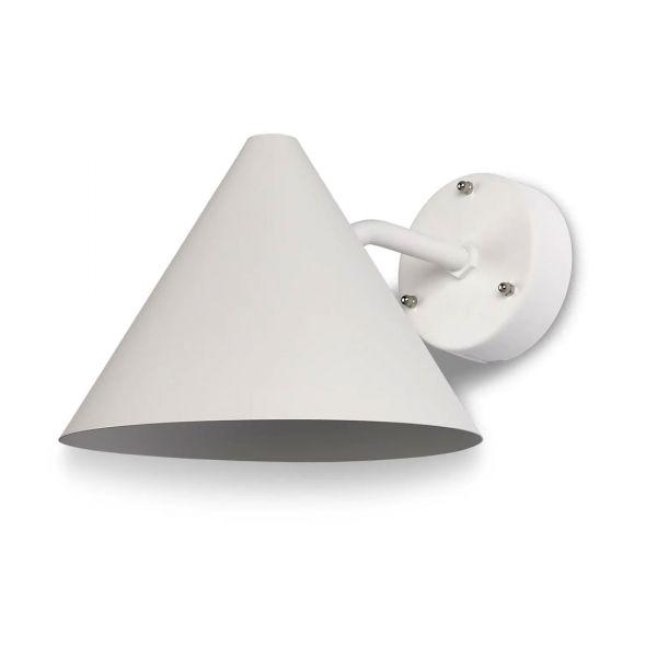 Tratt IP23 Vit  Vägglampa