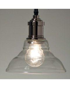 Nilla Silver/Glas 18cm Taklampa från A-Grossisten