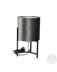 Honey Grå/Svart 38cm Bordlampa från By Rydens