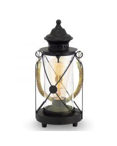Bradford Lykta Svart Bordslampa från Eglo
