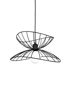 Ray Svart 45cm Taklampa från Globen Lighting
