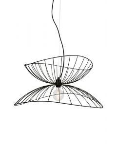Ray Svart Taklampa från Globen Lighting