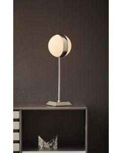 Circle Krom/Vit 37Cm Bordslampa från Herstal