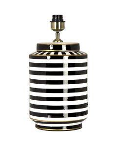 Gatsby Svart/Vit 43cm Lampfot från Pr Home