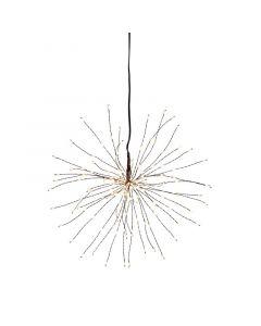 Firework Svart 26cm Hängande Dekoration från Star Trading