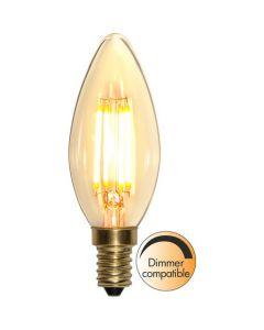 Kron E14 4W Soft Glow Dimbar Led från Star Trading