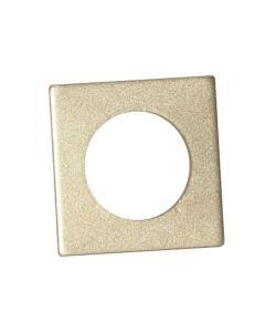 Ljusmanschett 7-pack Accessorize Fyrkant 3,2cm Guld från Star Trading