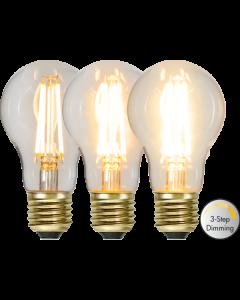 Normal E27  6,5W Soft Glow Led 3-Steg från Star Trading