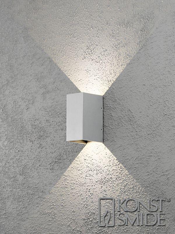 Vägg lampa utomhus LED   LED Väggarmatur   LED Grossisten