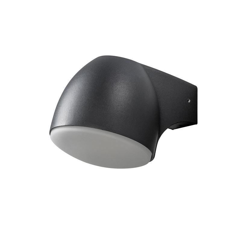 Konstsmide Ferrara Svart 4W Led Ute Vägglampa