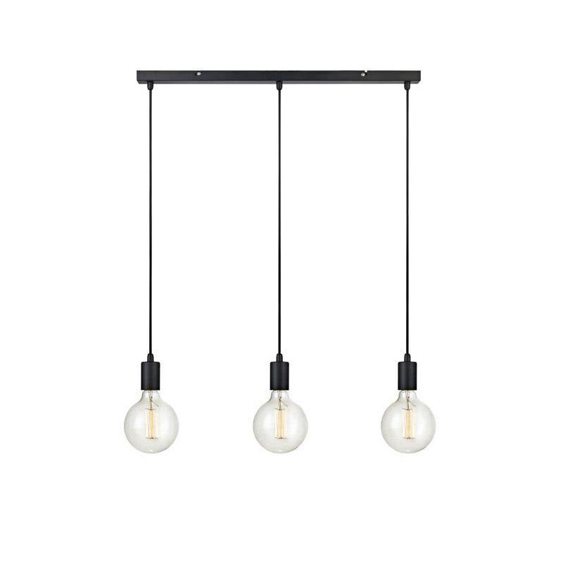 3 lampor i ett uttag