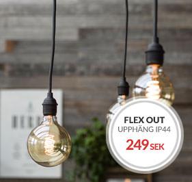 Flex Out IP44 Takupphäng 5 meter