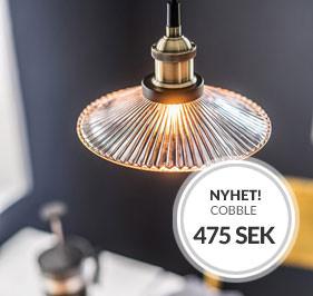 Cobble fönsterlampa nyhet från Cottex