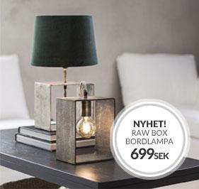 Raw Box bordslampa NYHET från PR Home