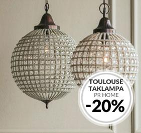 Kristallbelysning - Toulouse Taklampa
